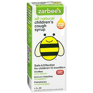 Zarbees Natural Cough Syrup